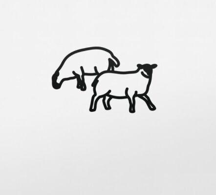 Julian Opie, 'Sheep 2', 2015