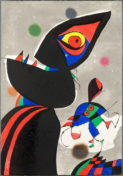 Joan Miró, 'Gaudi XVII', 1979