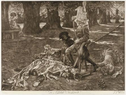 James Jacques-Joseph Tissot, 'LE PETIT NEMROD (A Little Nimrod)', 1886