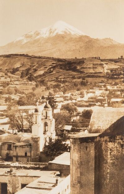 Hugo Brehme, 'A Group of Four Mexican Postcards'