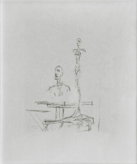 Alberto Giacometti, 'THE SEARCH', 1965