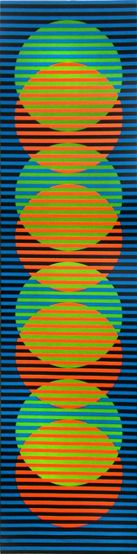 Carlos Cruz-Diez, 'Couleur Additive Sitges 3', 2012