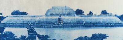 Penelope Stewart, 'Paradise at Kew Gardens  (phthalo blue)', 2018