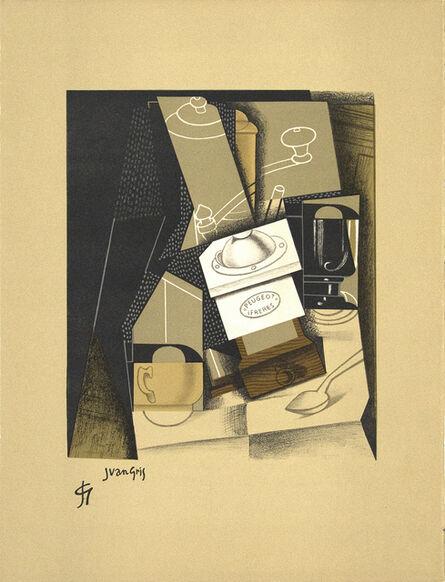 Juan Gris, 'Moulin a Café (Coffee Grinder) from Au Soleil au Plafond', 1916/1917