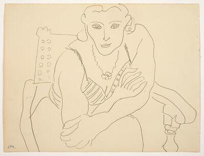 Henri Matisse, 'Woman in a chair', n.d.