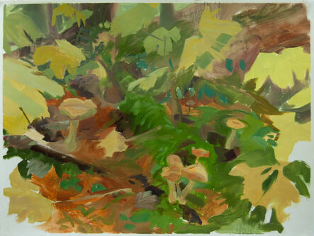 Kristin Musgnug, 'Forest Floor with Mushrooms and Devil's Club', 2015