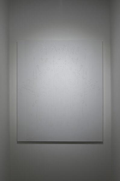 Akira Fujimoto, 'White Rorschach (Shining Shadow series)', 2015