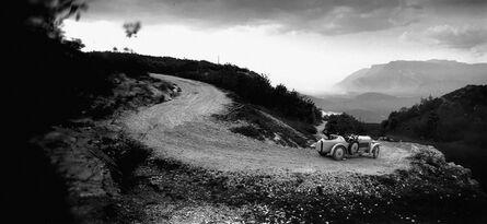 Jacques-Henri Lartigue, 'Bibi et Michele Verly dans on Amilcar Route du Revard, Mai', 1928