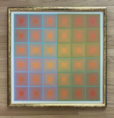 Richard Anuszkiewicz, 'Spectral Squares', 1970