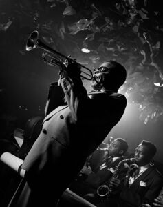 Herman Leonard, 'Dizzy Gillespie, New York', 1948