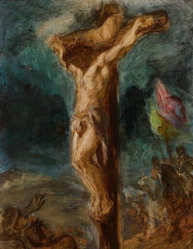 Eugène Delacroix, 'Crucifixion', 1846