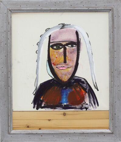 Matthias Dornfeld, 'Untitled (Portrait am Tisch)', 2015