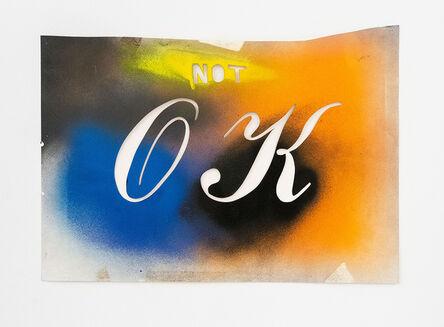Huck Snyder, 'Not OK', 1983
