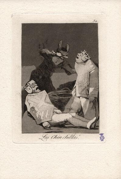 Francisco de Goya, 'Los Chinchillas. (The Chinchillas.)', 1796-1797