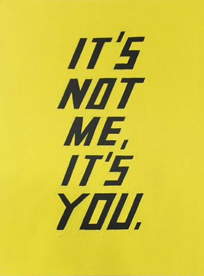Scott Patt, 'It's Not Me, It's You.', 2014