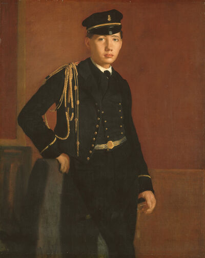Edgar Degas, 'Achille De Gas in the Uniform of a Cadet', 1856/1857