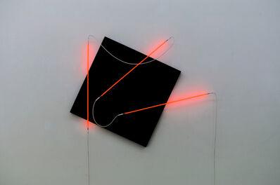 François Morellet, 'Néons 3D : 15°-90°-40°', 2015