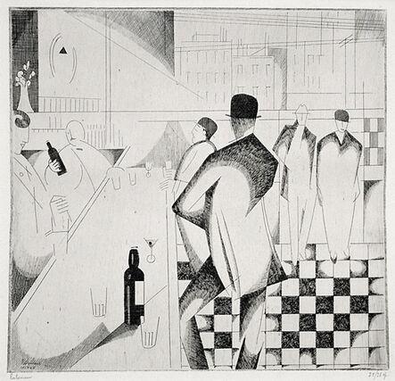 Jean-Emile Laboureur, 'Bar en Pennsylvanie', 1914