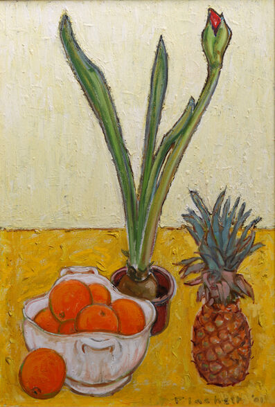 Joseph Plaskett, ' Amaryllis in Bud', 2001