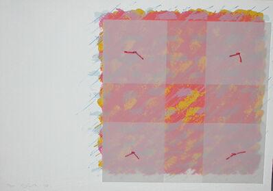 Richard Smith (1931-2016), 'Florentine I (red / orange)', 1973