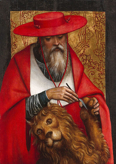 Defendente Ferrari, 'St. Jerome by Defendente Ferrari', ca. 1510
