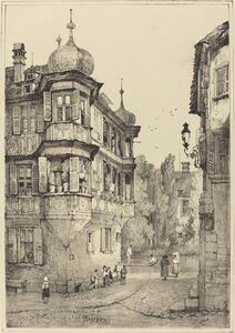 Samuel Prout, 'Bamberg'