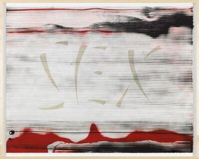 Ed Ruscha, 'Sex', 1988