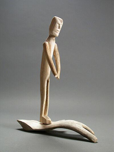 Luke Iksiktaaryuk, 'untitled (standing figure)', ca. 1970s