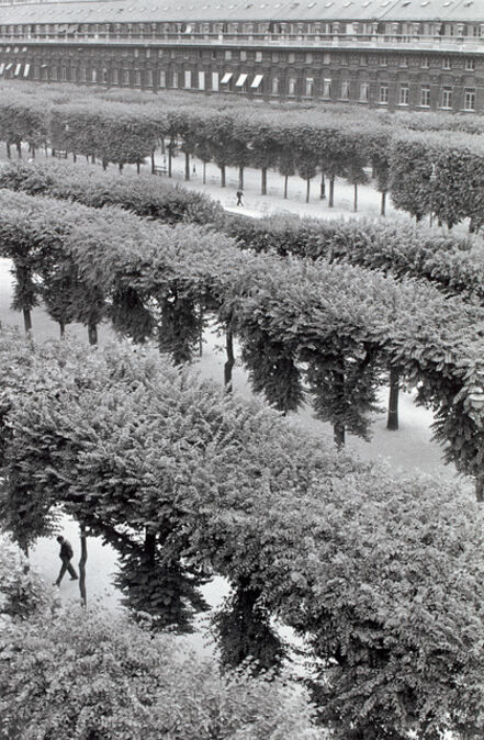 Henri Cartier-Bresson, 'Gardens of the Palais Royal, Paris', 1959