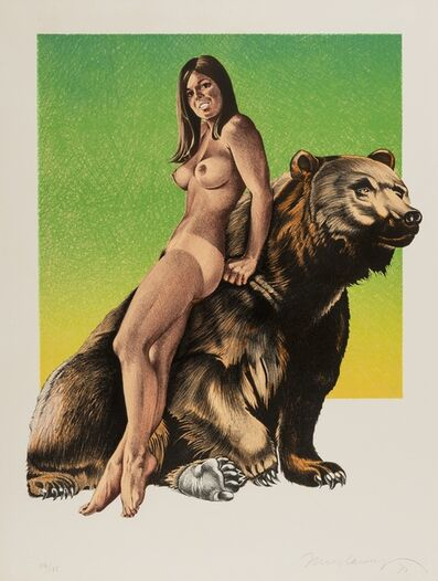Mel Ramos, 'Browned Bare', 1970
