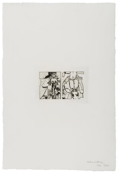 Eduardo Paolozzi, 'Manikins for Destruction (Editions Alecto 766-771)', 1970