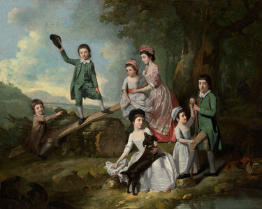 Johann Joseph Zoffany, 'The Lavie Children', ca. 1770
