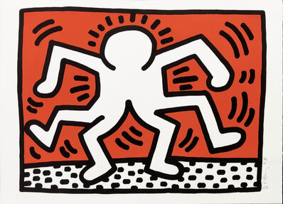 Keith Haring, 'Untitled (Double Man)', 1986