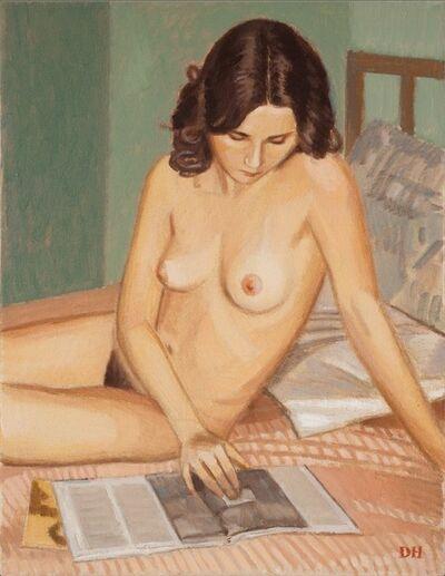 Duncan Hannah, 'In her room', 2014
