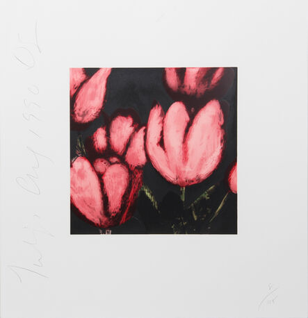 Donald Sultan, 'Tulips', 1991