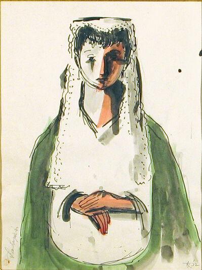 Theodore Roszak, 'Madonna [Betrothed]', 1932