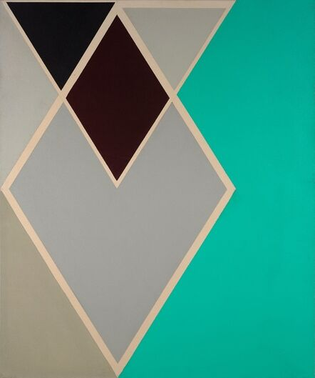Larry Zox, 'Jodphur (Diamond Drill Series)', 1967