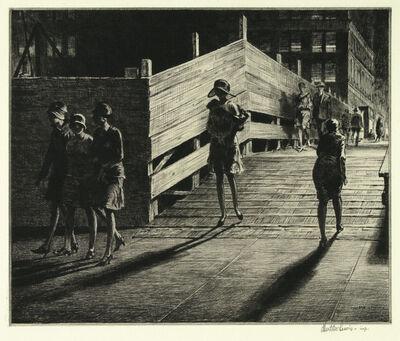 Martin Lewis, 'Fifth Avenue Bridge.', 1928