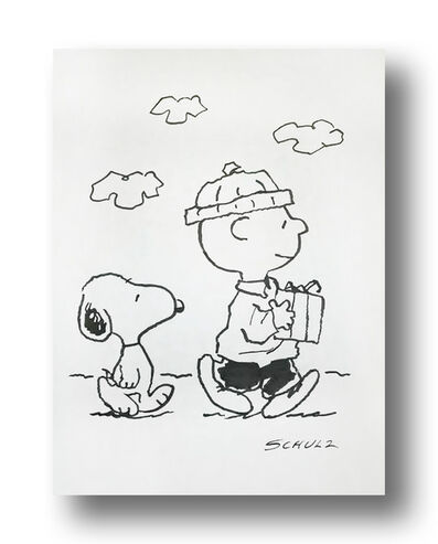 Charles M. Schulz, 'Friendship is Sharing life together Past , Future and Present', ca. 1970s