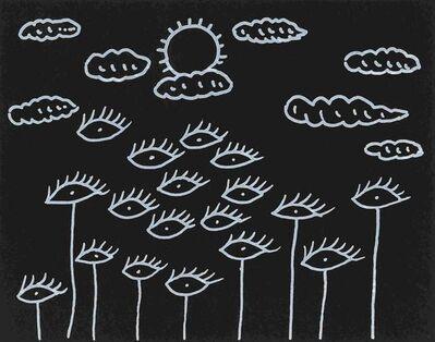 Yayoi Kusama, 'Eyes Flying in the Sky', 2012