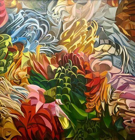 Olga Tobreluts, 'Flowers', 2016