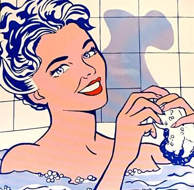 Roy Lichtenstein, 'Woman in Bath', ca. 1980