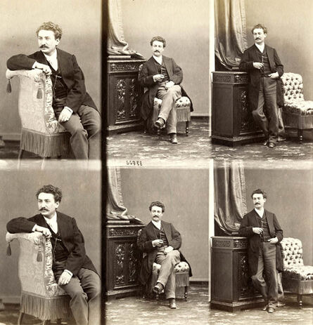 André Adolphe-Eugené Disdéri, 'Edward Francis Rimbault , English Organist, Pianist and Author', 1865