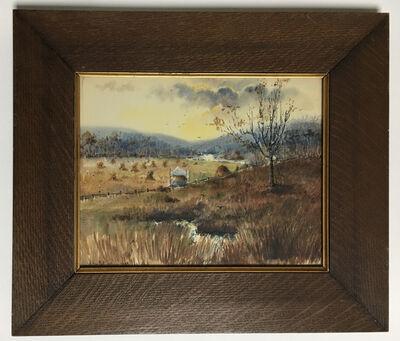 Emma H. Van Pelt, 'Untitled (Nantucket landscape)', October 1899