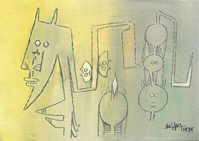 Wifredo Lam, 'The Family (La Familia)', 1975