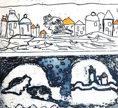 Jan Farrell, 'Yellow roofs', 2020