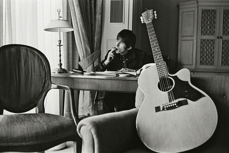 Bent Rej, 'Keith Richards at Home II, London, 1965', 1965