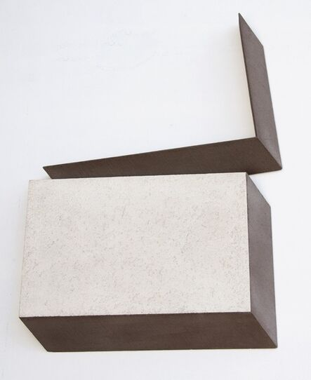 Giuseppe Uncini, 'Ombra di due rettangoli', 1977