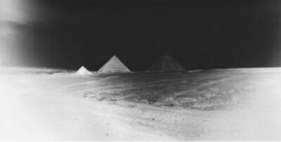 Vera Lutter, 'Giza Plateau: April 22, 2010', 2010