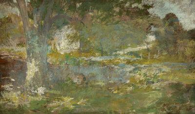 John Henry Twachtman, 'Landscape', ca. 1890